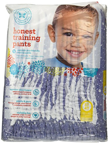 The Honest Company Training Pants (Starry Night, Size 3T/4T) (Honest Company 4t compare prices)