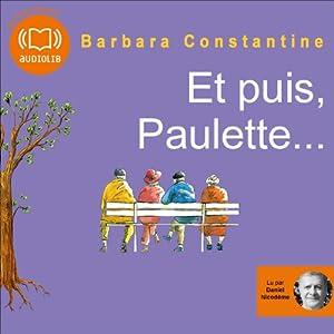 Et puis, Paulette... | Livre audio