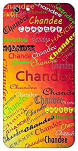 Chandee (Name of a God) Name & Sign Printed All over customize & Personalized!! Protective back cover for your Smart Phone : Samsung Galaxy Note-3