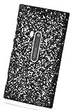 Circle Case Coque en plastique pour Nokia Lumia 920 Noir Motif Espace Galaxie Univers Nebuleuse Hologramme