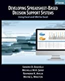img - for Developing Spreadsheet-Based Decision Support Systems by Sandra D. Eksioglu (September 26,2011) book / textbook / text book