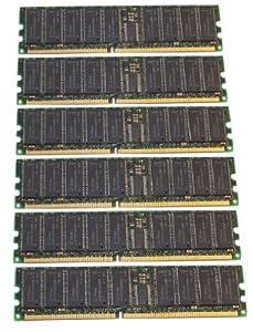 (Not for PC!) 12GB 2x6 Dell PowerEdge 2650 Memory RAM ECC REG PC2100 (MAJOR BRANDS)