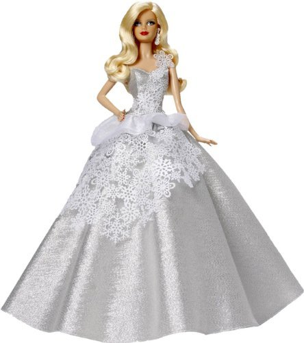Carlton Heirloom Series Ornament 2013 Holiday Barbie #1 - #CXOR079D