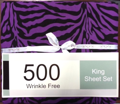 King Size Zebra Print Bedding