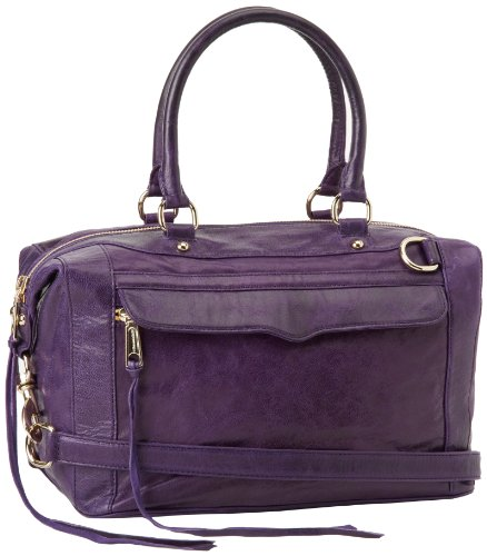Rebecca Minkoff Mab Patent 10DILLCHO2 Shoulder Bag,Grape,One Size