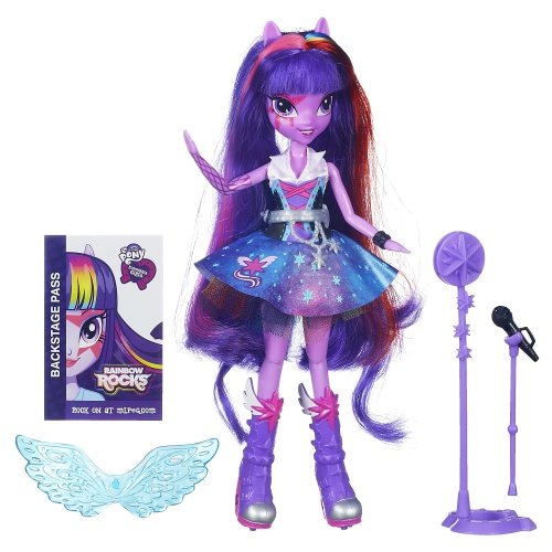 My Little Pony Equestria Girls Singing Twilight Sparkle Doll JungleDealsBlog.com