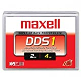 Maxell 22799300 DDS1 2/4GB (90m 4mm) Tape Cartridge