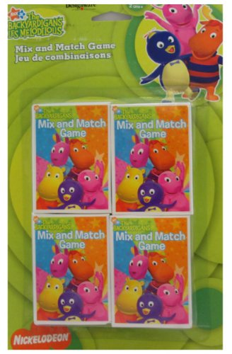 Backyardigans Mix and Match Game Favors (4ct)