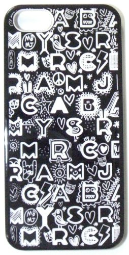 【MARC BY MARC JACOBS】 iPhone5 ケース 【2012年秋冬新作】 Dreamy Graffiti 【ドリーミーグラフィティ】 Black Multi 【ブラックマルチ】 【送料無料】 並行輸入品