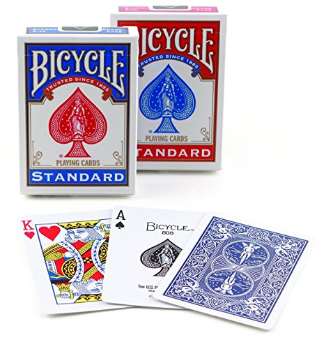 Why Should You Buy Bicycle Poker Size Standard Index Playing Cards (Blue or Red)