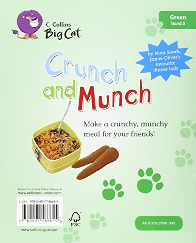 Collins Big Cat - Crunch and Munch: Band 05/Green