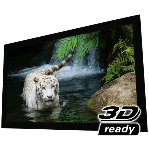 "Elunevision Reference Studio 4K Fixed Frame Projection Screen - 135"" (118"" X 66"") Viewable - 16:9"
