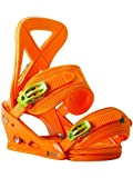 Burton Custom Snowboard Bindings, Orange - Large