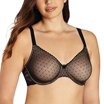 Wacoal Women's Reveal Underwire Bra, Black, 32B