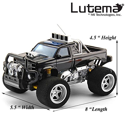 Lutema Big Shocker 4CH Remote Control Truck, Black (Remote Trucks compare prices)