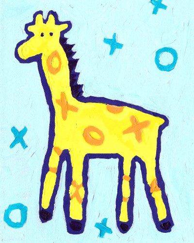 Cici Art Factory X and O Wall Art, Giraffe