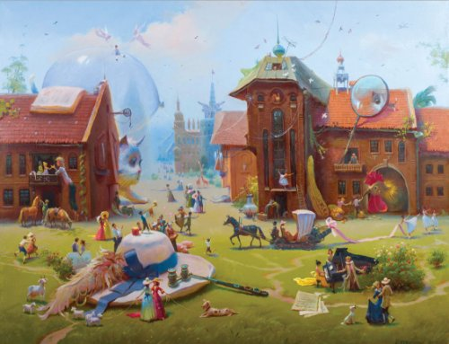Artifact Puzzles - Valentine Rekunenko Charming Village