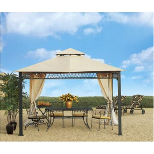 Sunjoy Havenbury Gazebo Replacement Canopy Cover