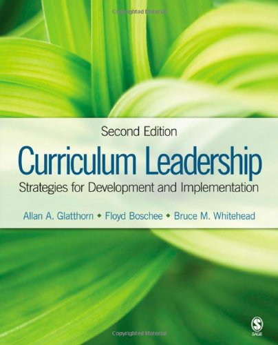 Curriculum Leadership: Strategies for Development and...