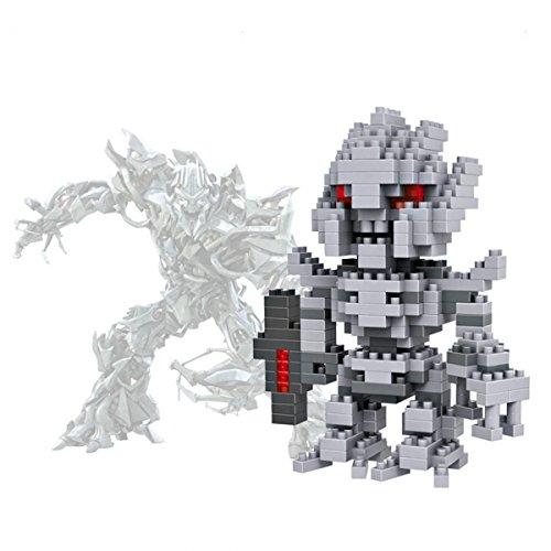 LOZ-9403 270pcs Transformers Galvatron Plastic Mini Diamond Building Blocks Set DIY Educational Toy by Preciastore - 1