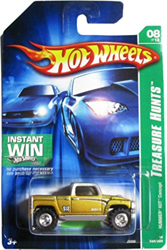 2006 Treasure Hunt #8 Hummer H3T Concept #2006-46 Collectible Collector Car Mattel Hot Wheels