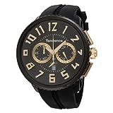 [テンデンス]Tendence 腕時計 ラウンド ガリバー クロノ 黒文字盤×金インデックス 10ATM 50mm 02046011AA メンズ 【並行輸入品】
