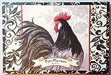 Black Australorp Rooster Disposable Paper Placemats Designed by Susan Winget 12 1/4