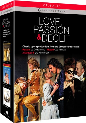 Love Passion And Deceit (Glyndebourne Box Set) (Opus Arte: OA1074BD) [DVD] [2012]