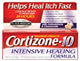 Cortizone-10 Max Strength Cortizone-10 Intensive Healing Formula, 2oz Boxes (Pack of 2)