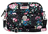 Cath Kidston New Spray Flowers Dolly Cross Body Bag In Black £26.99
