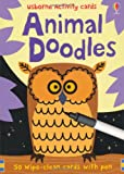 Fiona Watt Animal Doodles (Usborne Activity Cards)