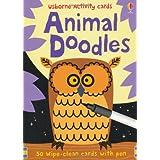 Animal Doodles (Usborne Activity Cards)by Fiona Watt