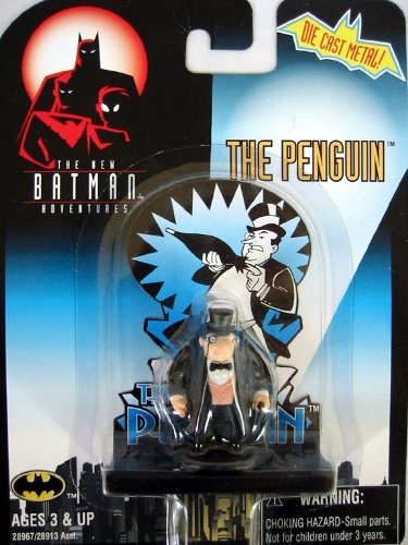 Batman The Penguin Die Cast Metal Figure