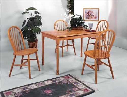 oak dining room sets for sale buy 5pc dark oak dining