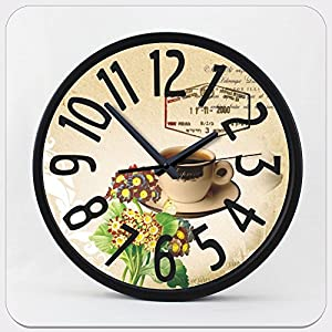 clock kitchen home hours decor fashion wall watch relogio de cozinha
