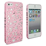 Lumii Ark Rubberized Hard Case for Apple iPhone 5 - Bird Nest (Light Pink)