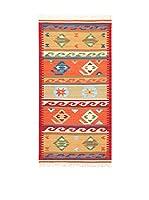 Kilim Carpets by Jalal Alfombra In Kilim Fine (Rojo/Multicolor)