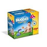 Huggies - 2996297 - Super Dry Giga Box - Taille 4 (7-14 kg) x 160 Couches
