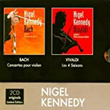 img - for BACH VIOLIN CONCERTOS & VIVALDI 4 SEASONS [THE ORIGINALS] by NIGEL KENNEDY [Korean Imported] (2009) book / textbook / text book