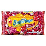 Nestle Valentine's Day Butterfinger Hearts, 11-Ounce Bags (Pack of 4) ~ Butterfinger