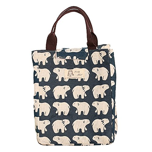 tang-imp-portable-insulated-lunch-bag-thermal-cooler-food-storage-tote-picnic-lunch-bag-polar-bear