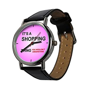 Its a Shopping Thing Design Watch, an ideal gift for all Shopaholics