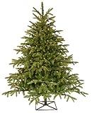 Barcana 4.5-Foot Alaskan Deluxe Fir Christmas Tree with 250 Clear Mini