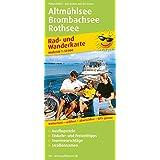 Rad- und Wanderkarte Altmühlsee - Brombachsee - Rothsee: Mit Ausflugszielen, Einkehr- & Freizeittipps, wetterfest, reissfest, abwischbar, GPS-genau. 1:50000