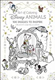 img - for Art of Coloring: Disney Animals: 100 Images to Inspire Creativity and Relaxation book / textbook / text book
