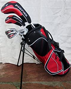 Boys or Girls Deluxe Golf Set Ages 6-8 Complete with Bag Jr. Clubs Junior by PreciseGolf Co.
