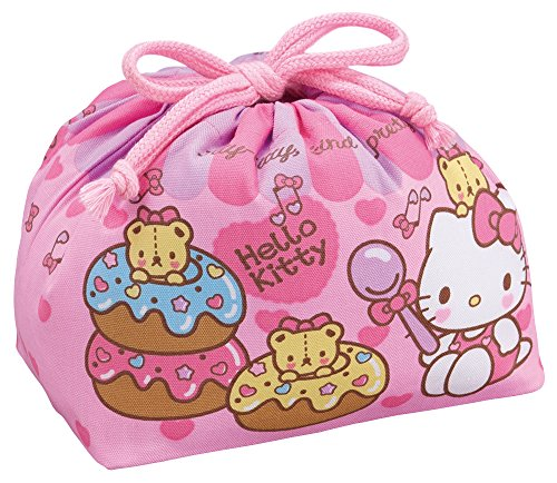 [Hello Kitty] DrawString lunch bag - 1