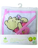 Pooh Bear Deluxe Hooded Towel Gift Set