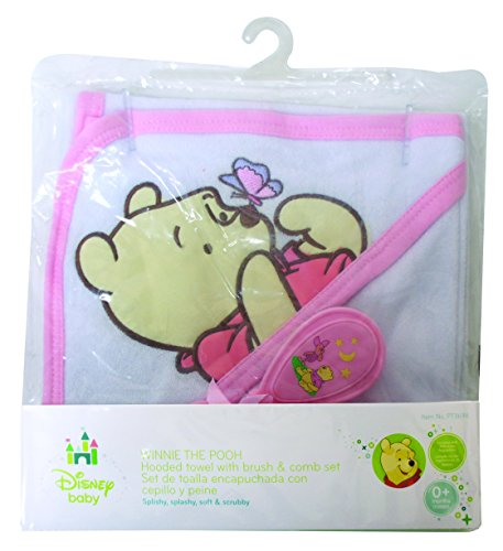 Pooh Bear Deluxe Hooded Towel Gift Set - 1