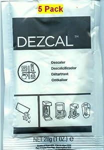 Urnex Dezcal 5 Pack from Urnex
